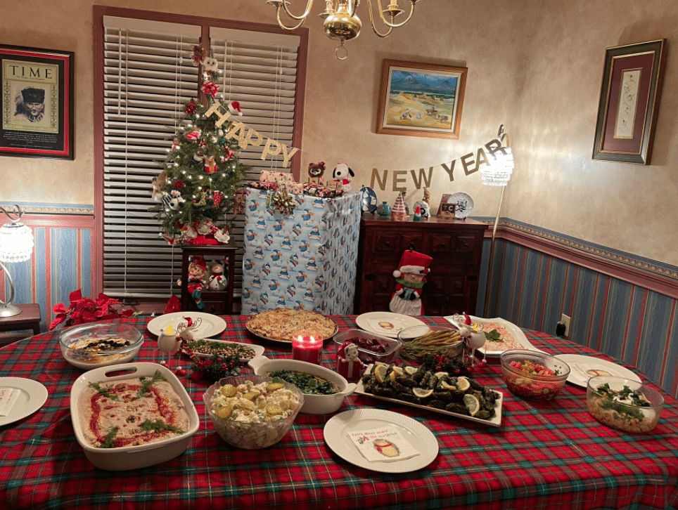 new year's eve dinner pic